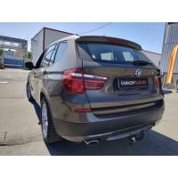Фаркоп Лидер Плюс на BMW X3 2010–2017  Арт. B205-A (F25)