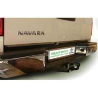 Фаркоп Лидер Плюс на NISSAN Navara 2005–2016  Арт. N107-FC (двойная кабина со ступенькой)